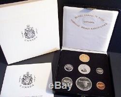 1867/1967 CANADA 7-Coin CENTENNIAL Speciman Set withCase/Box/BONUS $20 GOLD Coin