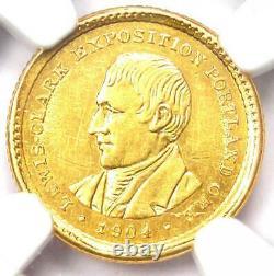 1904 Lewis & Clark Gold Dollar G$1 Certified NGC AU Detail Rare Coin