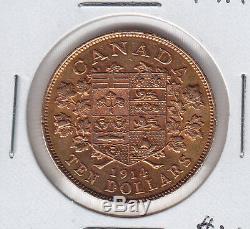 1914 Canada $10 Gold Coin