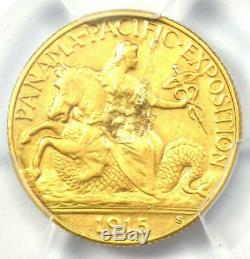 1915-S Panama Pacific Gold Quarter Eagle $2.50 Coin Certified PCGS XF Details