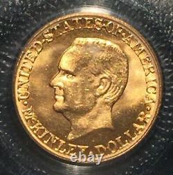 1916 McKinley Gold Dollar == MS-65 PCGS == Nice Flashy Coin ===