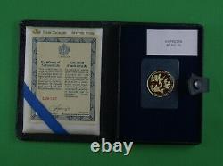 1978 1/2 Oz 22 Karat Gold Proof Coin Royal Canadian Mint