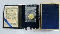1978 CANADA $100 DOLLARS GOLD COIN NATIONAL UNITY 9999 1/2 Troy Oz