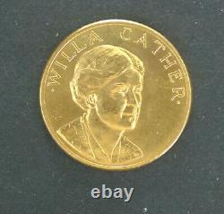 1981 US Gold (1/2 oz) American Commemorative Arts Willa Cather