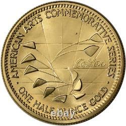 1983 US Gold (1/2 oz) American Commemorative Arts Medal Alexander Calder BU