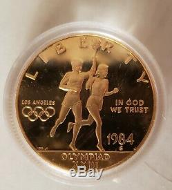 1984 $10 Gold Olympic Coin Set Proof