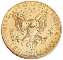 1984-W Los Angeles Olympiad $10 UNC Gold Commemorative