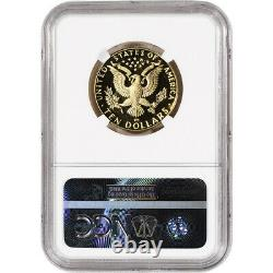 1984-W US Gold $10 Olympic Commemorative Proof NGC PF70 UCAM