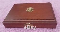 1986 United States Liberty Coins Set. 24 Troy Oz $5 Gold pc. 77 Troy Oz Slvr $