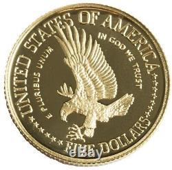 1986-W Statue of Liberty $5 Proof Gold Commemorative