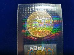 1993 SEALED BU Japan 50,000 Yen Commemorative 1000 Fine Gold Coin $1350 VALUE