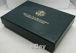 1995 Civil War Battlefield Commemorative Gold & Silver 6-Coin Set OGP LF446