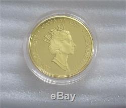 1997 Canada $200 Dollars Gold Coin Haida Mask THE RAVEN 22k -1/2 Oz Proof