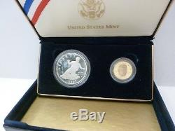 1997 Jackie Robinson 50th Anniversary Legacy Set Proof 2 Coin Set
