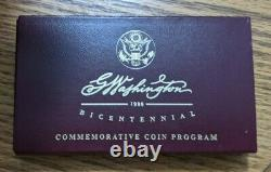 1999 George Washington Bicentennial Gold Coin Set
