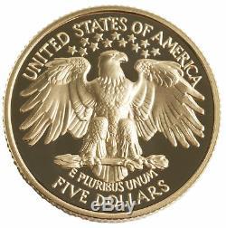 1999-W George Washington $5 PRF Gold Commemorative