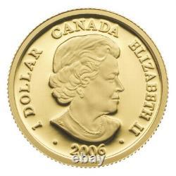 2006 $1 Fine Gold Coin Gold Louis