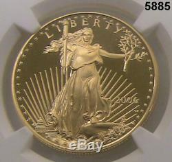 2006 3 Coin 20th Anniv. Gold Eagle Set Ngc Certified All 70 Grades! Coas #5885