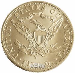 2006-S San Francisco Old Mint $5 UNC Gold Commemorative