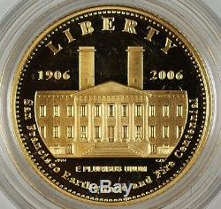 2006 San Francisco Old Mint $5 Gold Proof Commemorative Coin with Box & COA DGH