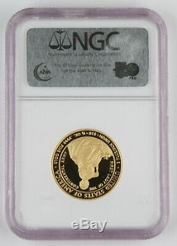 2007 W $10 Martha Washington 1/2 Oz 24K Gold First Spouse Proof Coin NGC PF70 UC