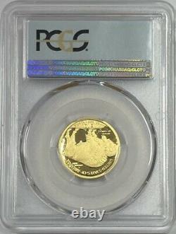 2008 W $10 Gold Buffalo Black Diamond PCGS PR70DCAM