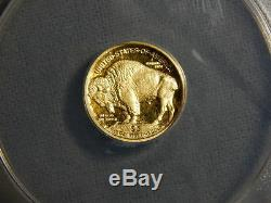 2008 W $5.00 1/10 oz 9999 24K GOLD BUFFALO ANACS PR70 First Strike. RC1510