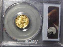 2008 W $5.00 1/10 oz 9999 24K GOLD BUFFALO PCGS MS69 RC1512