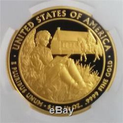 2008-W Proof $10 1/2 Oz Gold First Spouse Van Buren's Liberty NGC PF 70 UC