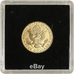 2008-W US Gold $5 Bald Eagle Commemorative BU Coin in Square Holder