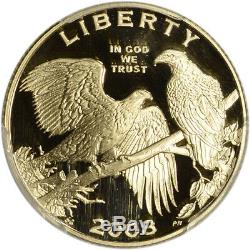 2008-W US Gold $5 Bald Eagle Commemorative Proof PCGS PR69 DCAM
