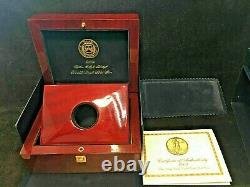 2009 $20 1 Oz Gold Ultra High Relief Uhr Ngc Ms-70 Dpl Deep Mirror Ogp And Book