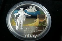 2009 The Golden Age Of Piracy 1 oz. 999 Silver Perth Mint 5 coin set Pirate Ship