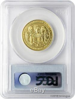 2009-W $10 Anna Harrison First Spouse Gold Coin PCGS MS70