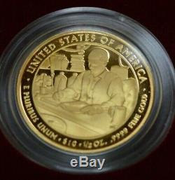 2010 W Buchanan's Liberty First Spouse Series 1/2 Oz, Gold Proof Coin