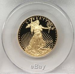 2010-W EAGLE Gold Pr. 1st STRIKE Set of (4) Coins $50, $25, $10, & $5 PCGS PR69DCAM
