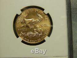 2013 $25 Gold Eagle 1/2 oz Gold NGC MS70 First Releases. RC1575
