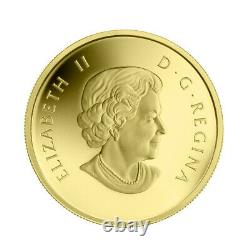 2013 $5 Pure Gold Coin Wolf