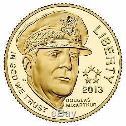 2013-W 5-Star Generals $5 Proof Gold Commemorative