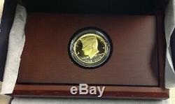 2014-W 50th Anniversary Kennedy Half Dollar Gold Proof Coin with Orig. Box & COA