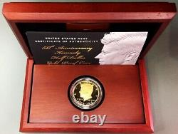 2014 W GOLD US KENNEDY HALF DOLLAR 3/4oz 50th ANNIVERSARY PROOF COIN SET OGP