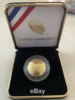 2014 W National Baseball Hall of Fame Gold Uncirculated 5 Dollar Coin COA B32
