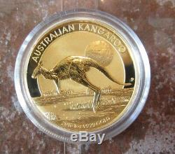 2015 Australia Kangaroo 1 oz Gold Coin BU