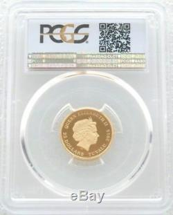 2015 Tuvalu Back to the Future DeLorean $25 Gold Proof 1/4oz Coin PCGS PR70 DCAM