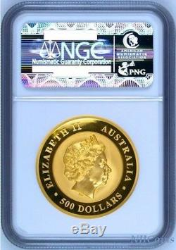 2016 Australia Kimberley Sunrise PROOF High Relief GOLD $500 NGC PF70 2 oz Coin