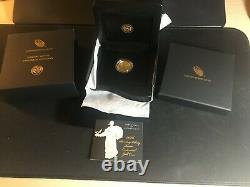 2016 Centennial Gold Coin Standing Liberty Quarter Original Mint Pkg & Coa