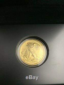 2016 Gold Liberty Centennial 3 Coin Set Mercury Dime, Standing Qtr, Walking Half