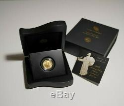 2016 Standing Liberty Quarter Centennial Gold Coin. 9999 24K Gold with Box & COA