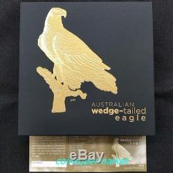 2016 The Australian Wedge-tailed Eagle 5oz Gold Proof High Relief Coin NGC PF70