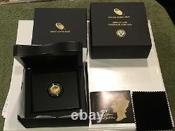 2016-W 1/10 OZ. 9999 GOLD CENTENNIAL MERCURY DIME COIN withBOX & COA US Mint